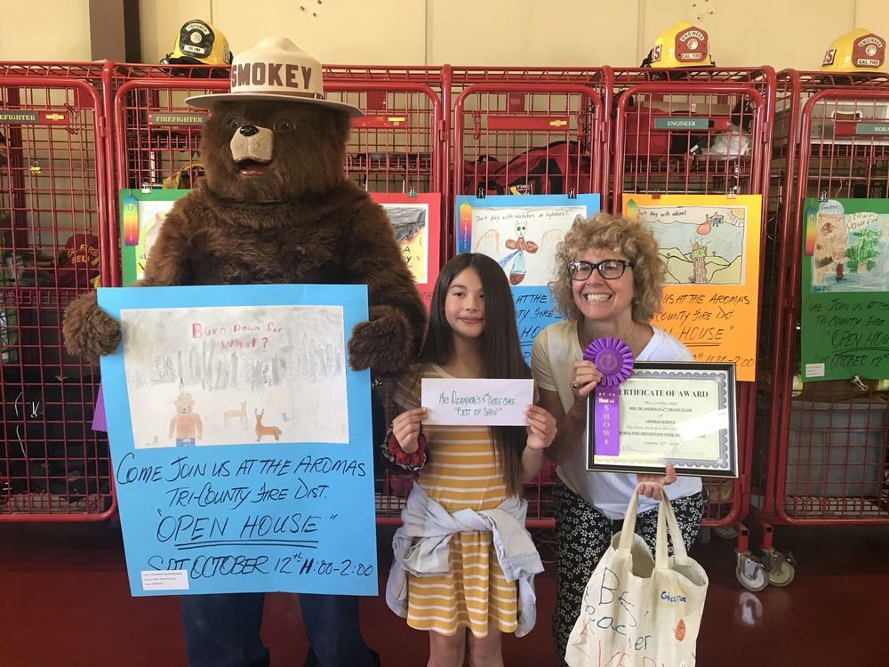 BEST IN SHOW FIRE PREVENTION POSTER CONTEST