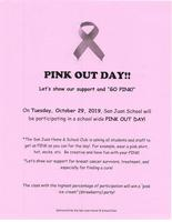 PINK OUT DAY!!​
