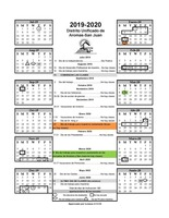 Anzar's Instructional Calendar