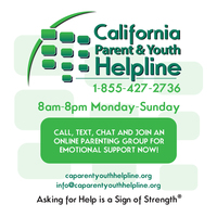 ​California Parent & Youth Helpline