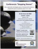 "Conferencia ""Stepping Stones"""
