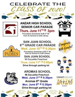ASJUSD CLASS OF 2020 INFORMATION